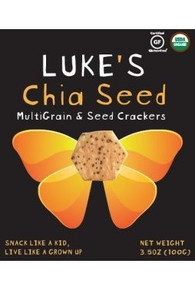 Chia Seed MultiGrain 6 of 3.5 OZ From LUKE`S