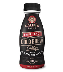 Cold Brew,Tripple Shot 8 of 10.5 OZ By CALIFIA FARMS