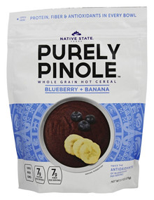 Blueberry + Banana 6 of 9.7 OZ By PURELY PINOLE