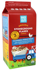 Stoneground Flakes 8 of 11 OZ By BACK TO THE ROOTS