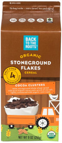Stoneground Flks Cocoa Clusters 8 of 9 OZ By BACK TO THE ROOTS