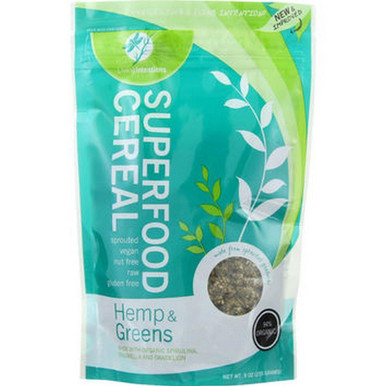 Hemp & Greens Superfood Cereal 15 LB By LIVING INTENTIONS