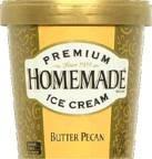 Salty Caramel W/Smoke Alm Macaroon 14 of 6.2 OZ JENI`S SPLENDID ICE CREAMS