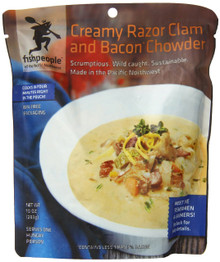 Razor Clam & Bacon Chowder 12 of 10 OZ From FISHPEOPLE