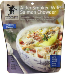 Alder Smoked Salmon Chowder 12 of 10 OZ From FISHPEOPLE