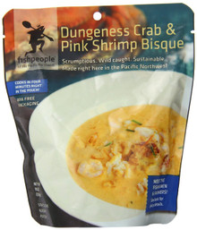 Dungeness Crab/Pink Shrimp Bisque 12 of 10 OZ From FISHPEOPLE