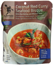 Red Curry Seafood Bisque 12 of 10 OZ From FISHPEOPLE