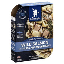 Wild Salmon w/Pasta & Mushrooms 6 of 10 OZ By FISHPEOPLE