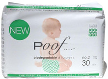 Green Loops No. 2 4 of 30 CT By POOF BIODEGRADABLE DIAPERS