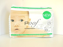Taupe Chinoiserie 4 of 33 CT By POOF BIODEGRADABLE DIAPERS