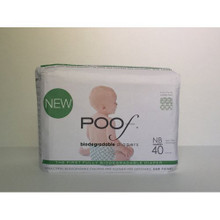 Green Loops 4 of 40 CT By POOF BIODEGRADABLE DIAPERS