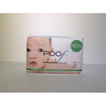 Taupe Chinoiserie 4 of 40 CT By POOF BIODEGRADABLE DIAPERS