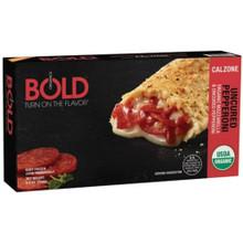 Uncured Pepperoni Pizza Pocket 12 of 4.5 OZ By BOLD ORGANICS