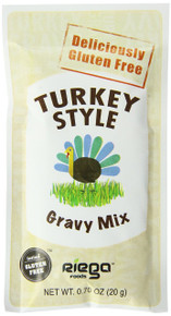 Turkey Style Gravy Mix 8 of .7 OZ From RIEGA FOODS