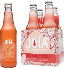 Soda,Grapefruit Chamomile/Crdmom 24 of 12 OZ From JOIA ALL NATURAL SODA