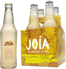 Soda,Pineapple/Coconut/Nutmeg 24 of 12 OZ From JOIA ALL NATURAL SODA