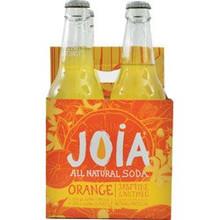 Orange Jasmin Nutmeg 24 of 12 OZ By JOIA ALL NATURAL SODA