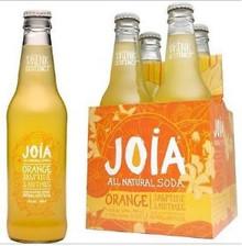 Orange Jasmin Nutmeg 6 of 4 of 12 OZ By JOIA ALL NATURAL SODA