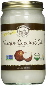 Coconut Unrefined Virgin 6 of 30 OZ By LA TOURANGELLE