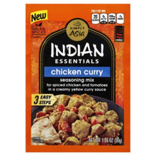 Chicken Curry 12 of 1.06 OZ From SIMPLY ASIA