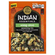 Saag Aloo 12 of .97 OZ From SIMPLY ASIA