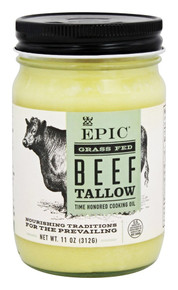 Grass Fed Beed Tallow 6 of 11 OZ By EPIC