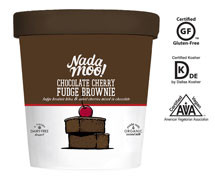 Chocolate Cherry Fudge Brownie 8 of PINT By NADA MOO!