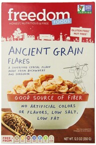 Ancient Grain Flakes GF 5 of 12.3 OZ From FREEDOM FOOD