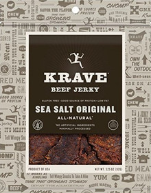 Beef Sea Salt Original 8 of 3.25 OZ By KRAVE