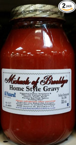 Home Style Gravy 12 of 32 OZ By MICHAELS OF BROOKLYN