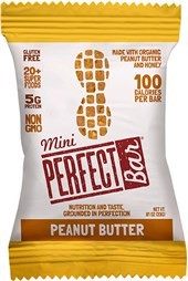 Mini Peanut Butter 20 of .81 OZ From PERFECT BAR