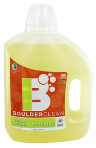 Liquid Laundry Detergent 4 of 100 OZ By BOULDER CLEANERS