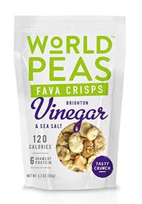 Vinegar & Sea Salt 6 of 5.3 OZ By WORLD PEAS
