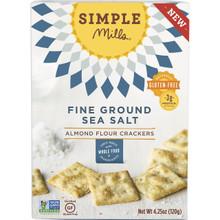Fine Ground Sea Salt GF 6 of 4.25 OZ By SIMPLE MILLS