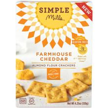 Farmhouse Cheddar GF 6 of 4.25 OZ By SIMPLE MILLS