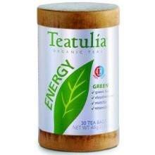 Green Tea,Energy 6 of 30 BAG By TEATULIA