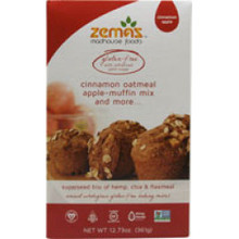 Cinnamon Oat GF 6 of 12.73 OZ By ZEMAS MADHOUSE FOODS