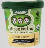 Lemon Cookie 8 of 16 OZ By THREE TWINS ICE CREAM