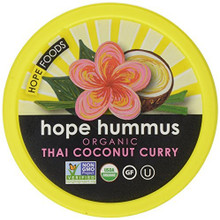 Thai Coconut Curry 8 of 8 OZ From HOPE HUMMUS