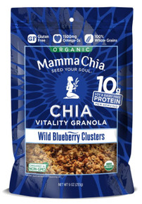 Chia,Clusters,Wild Blueberry 6 of 9 OZ By MAMMA CHIA