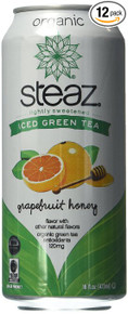 Grapefruit Honey 12 of 16 OZ By STEAZ