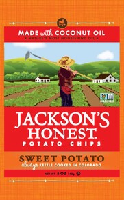 Sweet Potato 36 of 1.2 OZ From JACKSONS HONEST CHIPS