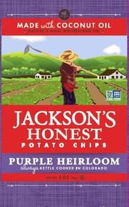 Purple Heirloom 12 of 5 OZ From JACKSONS HONEST CHIPS