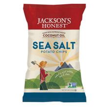 Sea Salt 12 of 5 OZ By JACKSONS HONEST CHIPS