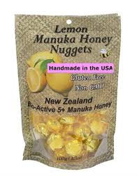 Manuka Honey Nugget,Lemon 6 of 3.5 OZ By PACIFIC RESOURCES INTL