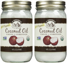Coconut Unrefined Virgin 6 of 14 OZ By LA TOURANGELLE