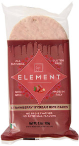 Strawberry n Cream 6CT 12 of 3.5 OZ From ELEMENT