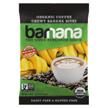 Coffee Chewy Banana Bites 12 of 1.4 OZ By BARNANA