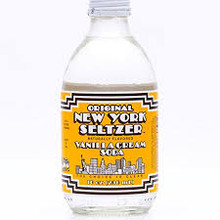 Peach Soda 24 of 10 OZ By ORIGINAL NEW YORK SELTZER