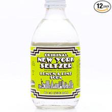 Lemon & Lime Soda 24 of 10 OZ By ORIGINAL NEW YORK SELTZER